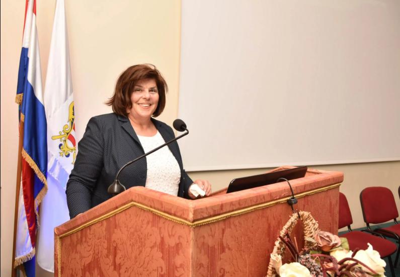 Slavica Stojan - predsjednica OMH Dubrovnik
