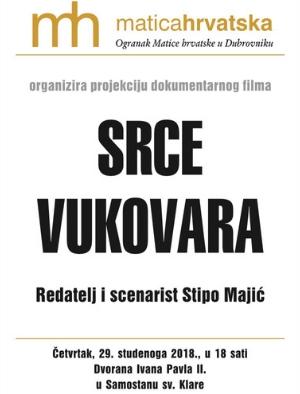 "Dokumentarni film ""Srce Vukovara"""