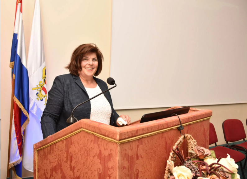 Predsjednica Ogranka održala predavanje o ljetnikovcima Rijeke dubrovačke