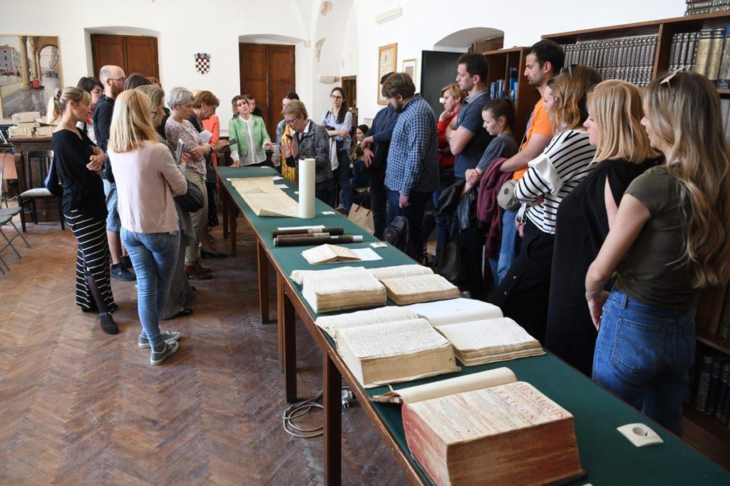 Sat povijesti u Državnom arhivu Dubrovnik