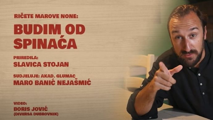 U kominu Matice hrvatske: RIČETE MAROVE NONE – Budin od spinaća