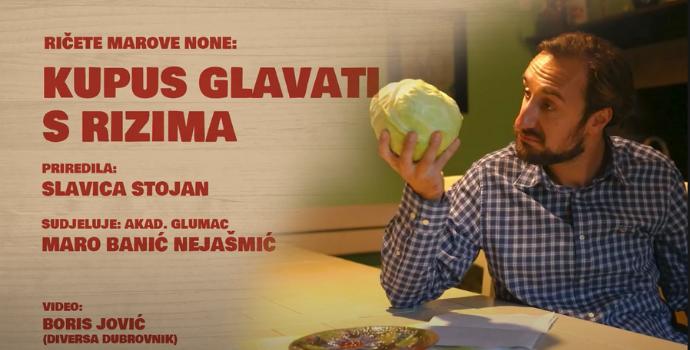 U kominu Matice hrvatske: RIČETE MAROVE NONE – kupus glavati s rizima