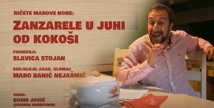 U kominu Matice hrvatske: RIČETE MAROVE NONE – Zanzarele u juhi od kokoši