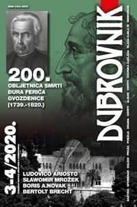 Novi broj časopisa Dubrovnik 3-4/2020.